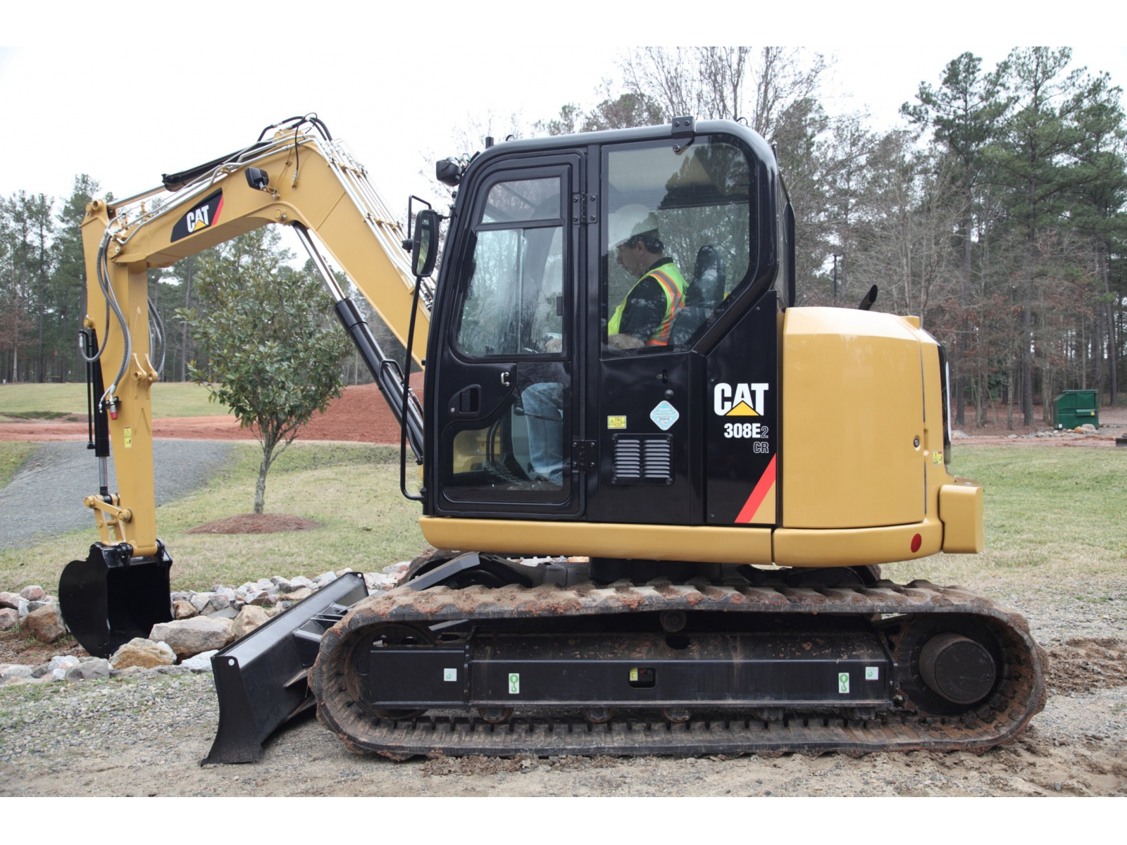 Pásové rýpadlo Caterpillar 308E2 CR SB