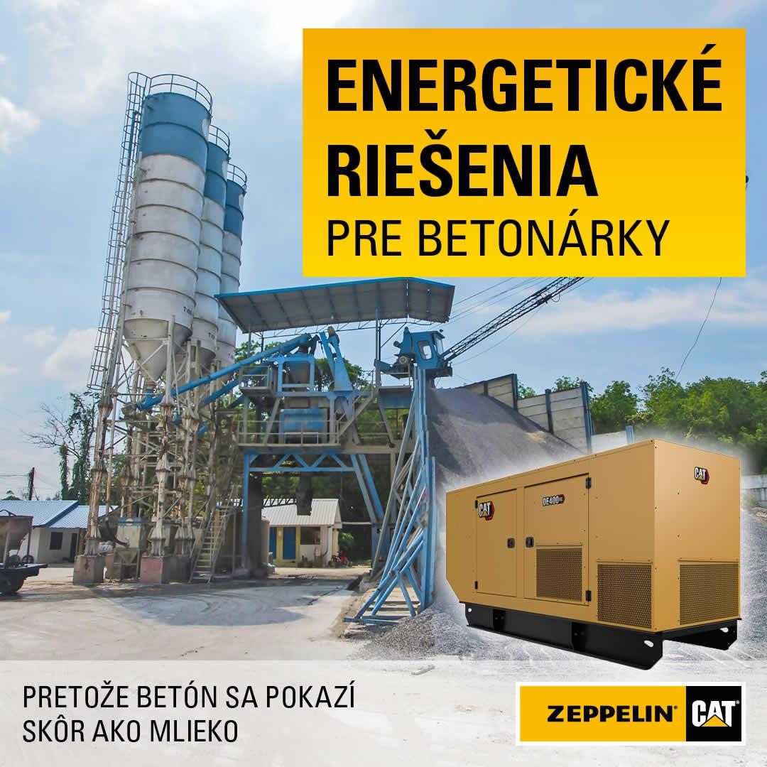 Energetické riešenia pre betonárky.