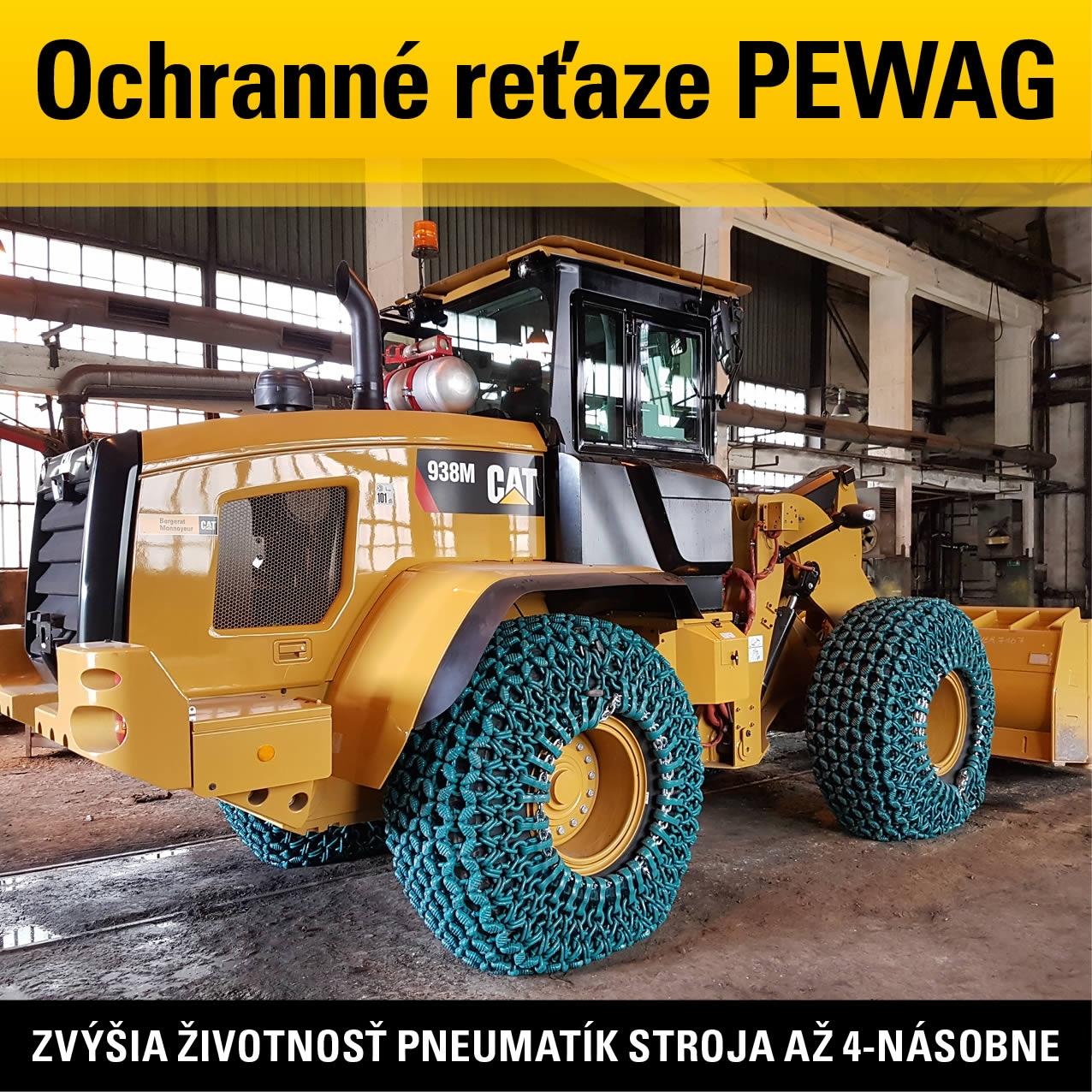 Ochranné reťaze Pewag