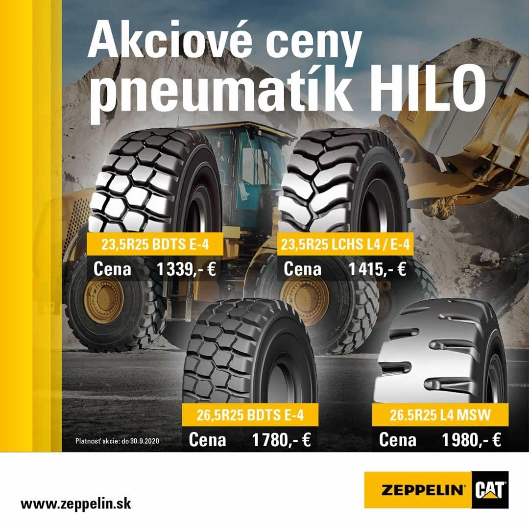Ponuka pneumatík HILO SEPTEMBER