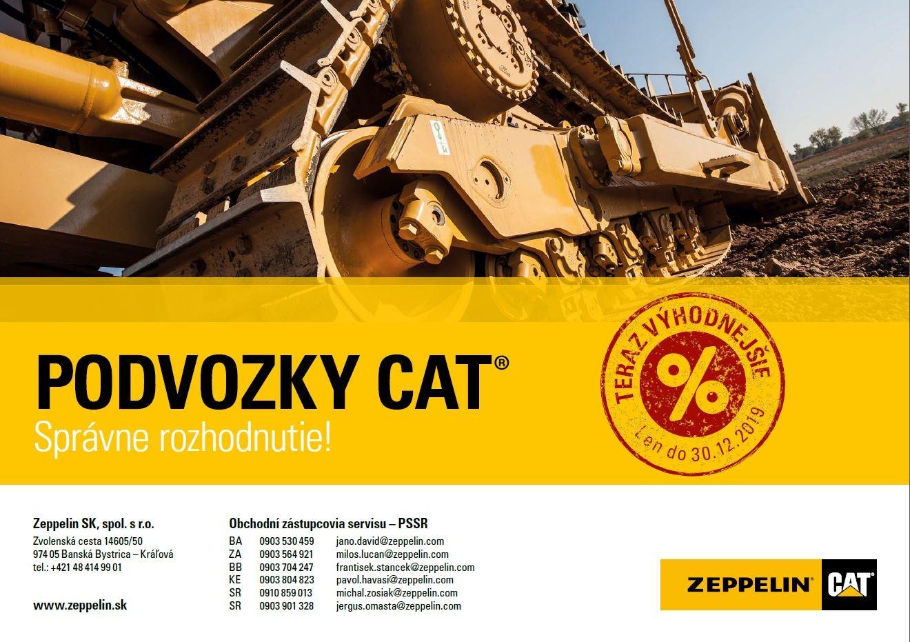 Podvozky Cat