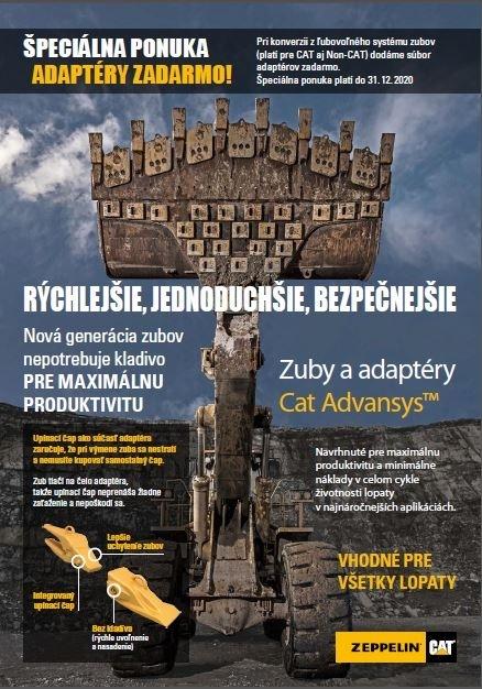 Špeciálna ponuka - Adaptéry Cat ADVANSYS