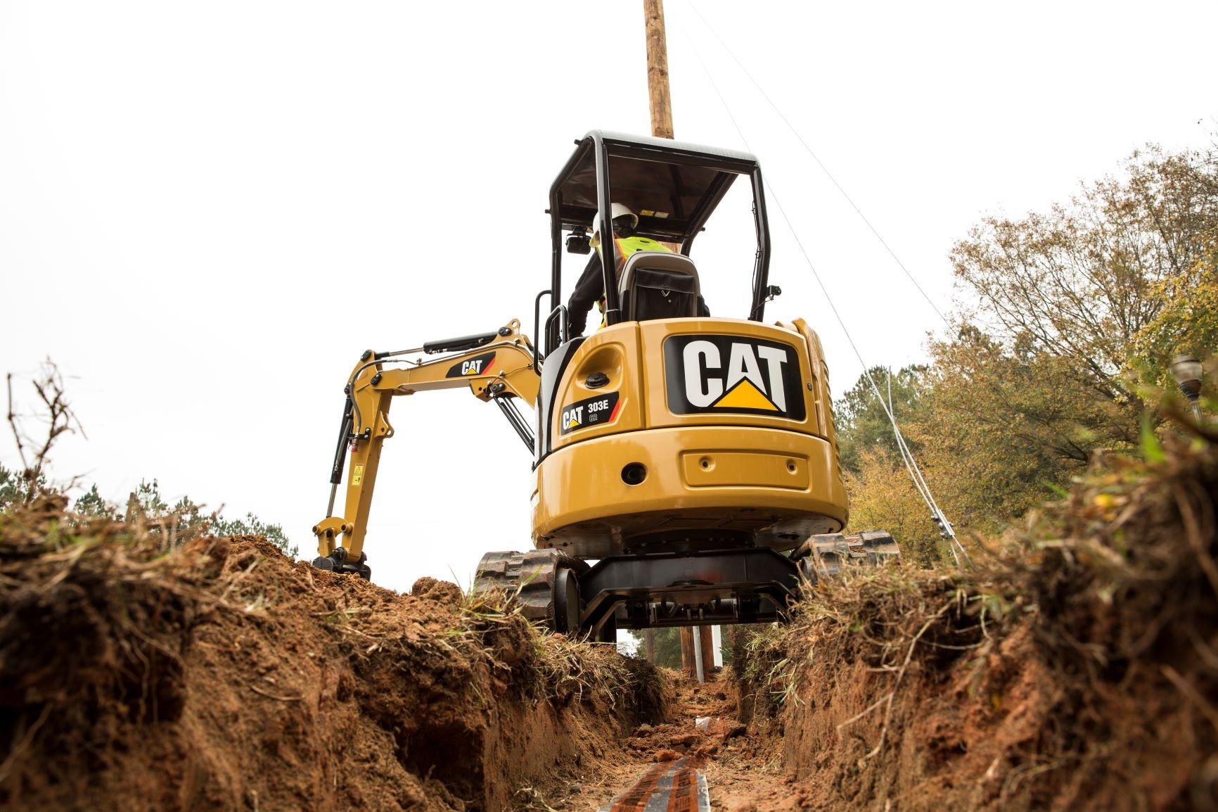 Cat 303E CR