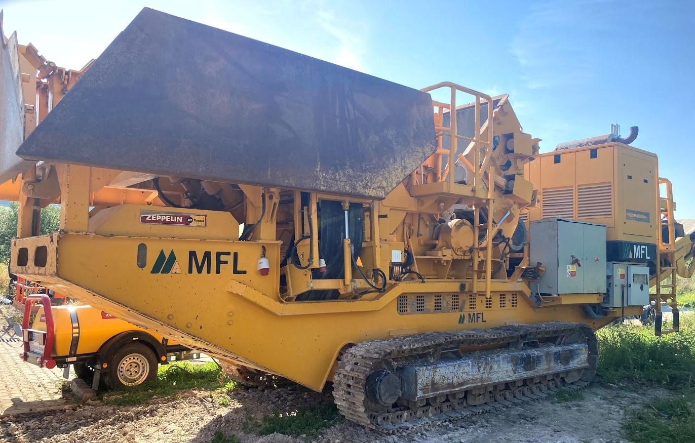 Mobilný odrazový drvič MFL R-CI 100-100/T